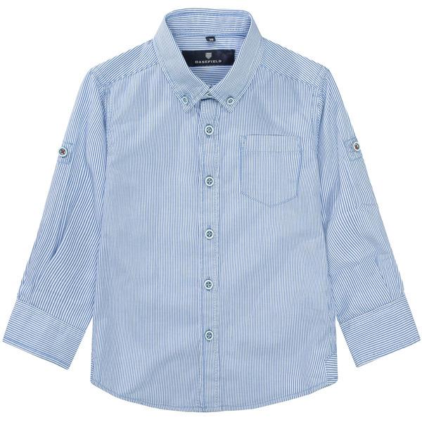 Kn.-Streifen-Hemd