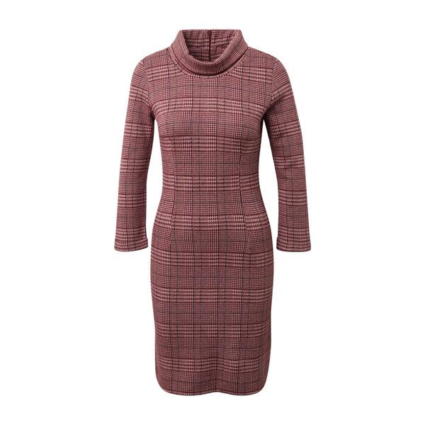 T T Women Casual Glencheck shift dress