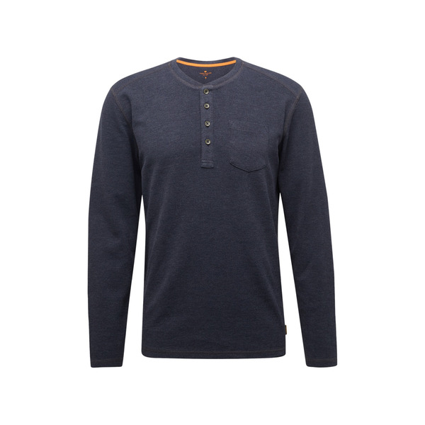 T T Men Casual Henley with chest pocket